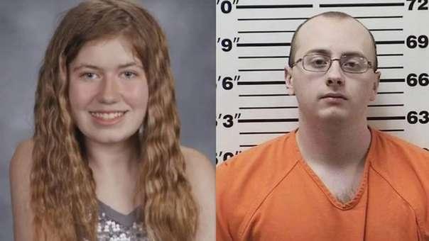 El presunto secuestrador, Jake Thomas Patterson (derecha), fue arrestado poco después de que apareciera la chica con vida.