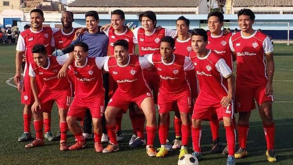 El nuevo San Simón durante un partido amistoso de preparación de cara a la Copa Perú 2019.