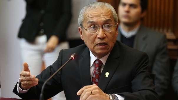 Poder Judicial ordena impedimento de salida del país contra el ex fiscal de la Nación.