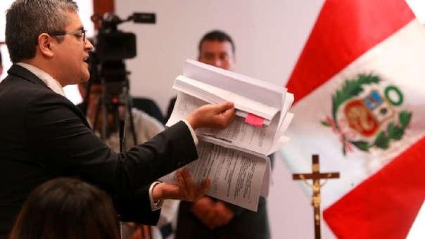 José Domingo Pérez fue restituido en el equipo fiscal para el caso lava Jato, luego de que el exfiscal de la Nación Pedro Chávarry lo realice.