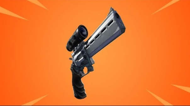 Fortnite, revólver con mira