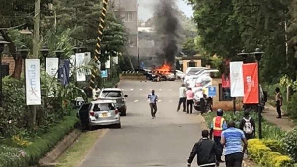 Explosión tiroteo