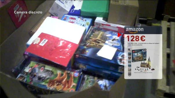 Video mostró cómo artículos que cuestan cientos de euros tenían destino un botadero o un incinerador.