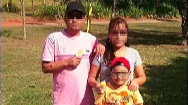 Las víctimas son Jesús Reynaldo Condori, de 39 años, su esposa Irma Morante Sanizo, de 38, y su hijo Abner Morante Condori, de ocho.