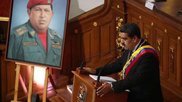 Nicolás Maduro ante la Asamblea Constituyente de Venezuela