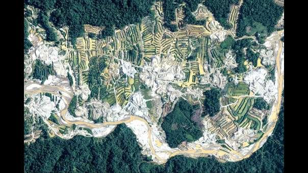 Devastación en la Amazonía peruana: imágenes que impactaron en el 2018