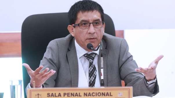 Richard Concepción Carhuancho es juez de investigación preparatoria en la Sala Penal Nacional