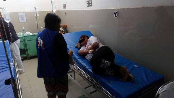 Intento de feminicidio en Chiclayo