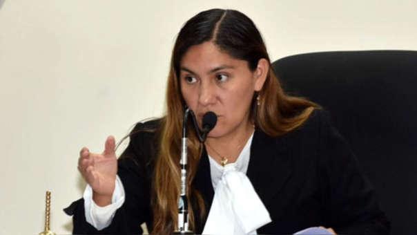 La magistrada fue seleccionada de forma aleatoria entre los jueces de los juzgados de investigación preparatoria.