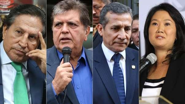 Expresidentes y exprimera dama