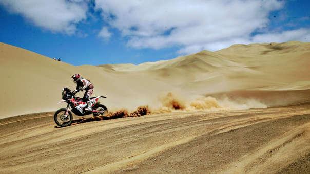Trece representantes peruanos arribaron a la meta final en las dunas de Pisco, en la última etapa de la competencia que se desarrolló en su integridad en nuestro país.