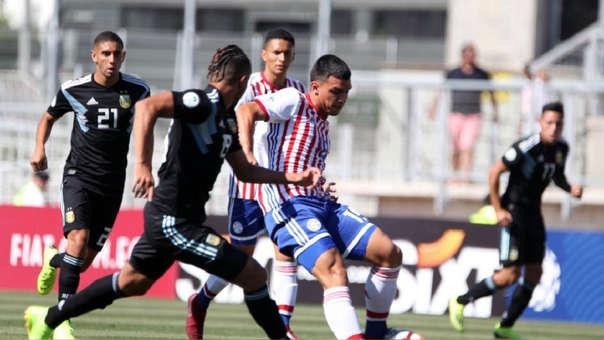 Argentina empató 0-0 ante Paraguay por la segunda fecha del Sudamericano Sub 20.