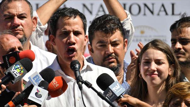 VENEZUELA-CRISIS-OPPOSITION-OPEN-MEETING-GUAIDO