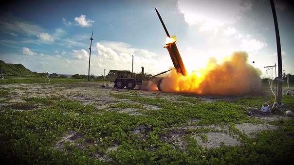 El THADD, el sistema antimisiles de EE.UU. desplegado en Corea del Sur.