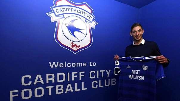 Emiliano Sala acaba de fichar por el Cardiff City de la Premier League