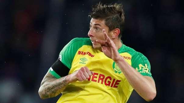 Emiliano Sala acaba de dejar el Nantes de Francia para fichar por el Cardiff City.