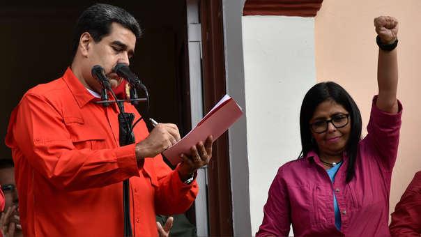 VENEZUELA-US-CRISIS-DIPLOMACY-MADURO