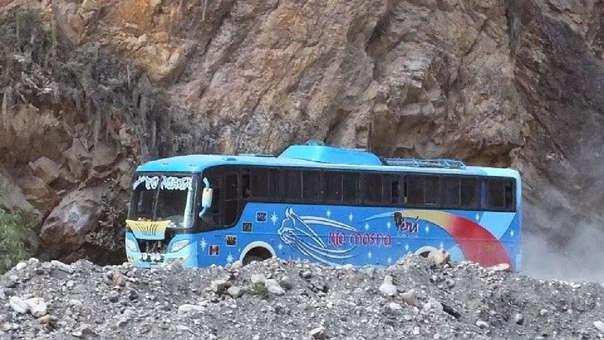 Bus de la empresa río Mosna