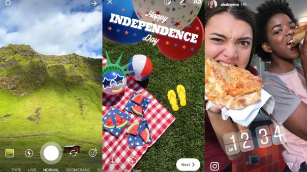 Ahora las historias añaden filtros a fotos y vídeos ya existentes