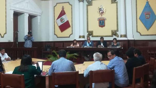 Sesión de Concejo de Chiclayo