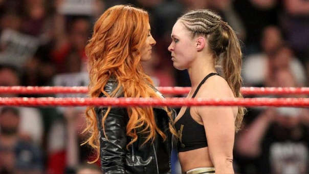 WrestleMania 35: Ronda Rousey vs. Becky Lynch