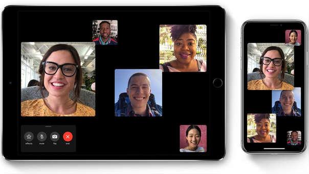 FaceTime conecta a los usuarios a través de su Apple ID.