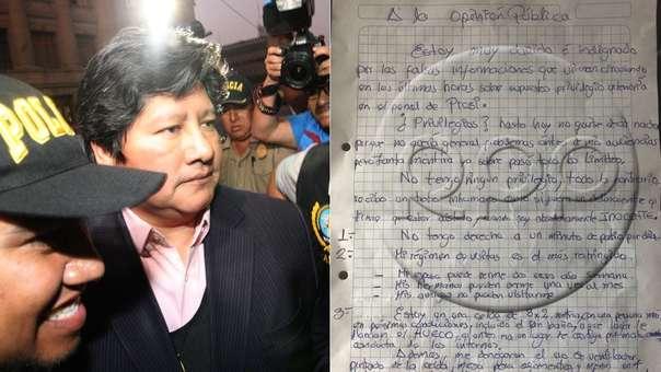 Empresario permanece en el penal de Chiclayo por el caso 'Los Wachiturros de Tumán'.