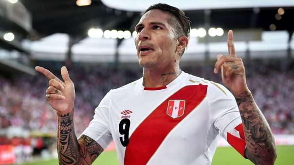 Paolo Guerrero jugó el Mundial con la Selección Peruana.