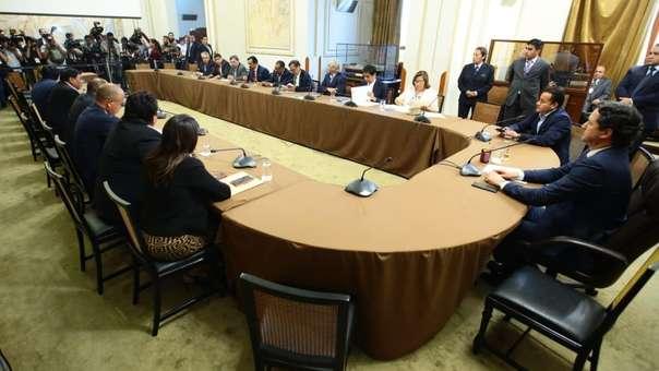 El consejo directivo del Congreso no puedo sesionar por la ausencia de congresistas de Fuerza Popular.