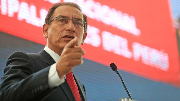 El mandatario participó del I Encuentro Nacional de Gobiernos Locales.