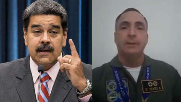 General Yañez y Nicolás Maduro
