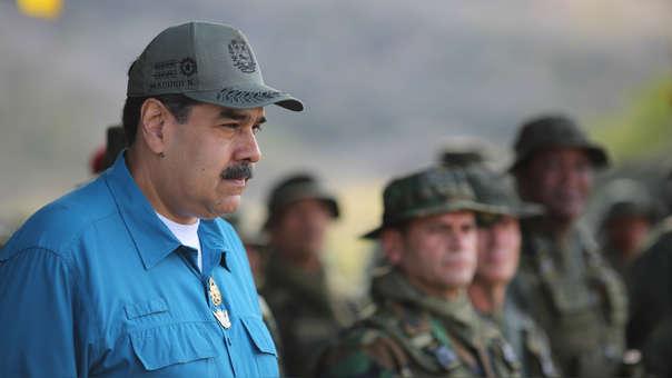 En la entrevista, Nicolás Maduro dijo que no descarta una guerra civil en Venezuela.