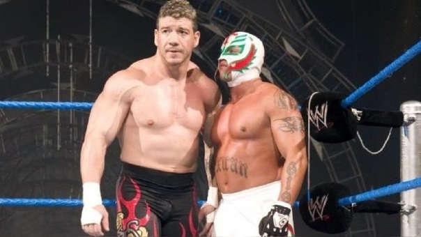 Rey Mysterio y Eddie Guerrero