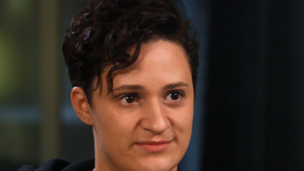 Danielle Teuscher tuvo a su hija con esperma de un donante anónimo.