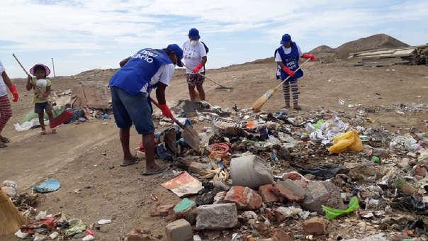 Limpieza en Negritos  (Talara)