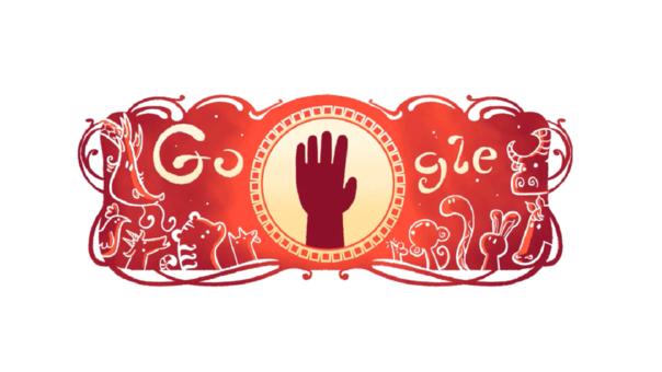 Este es el Doodle en honor al Año Nuevo Chino que ha publicado Google en algunos países