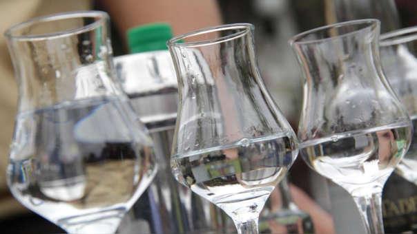El Pisco es la tercera bebida alcohólicas más consumidas después de cerveza y vino.