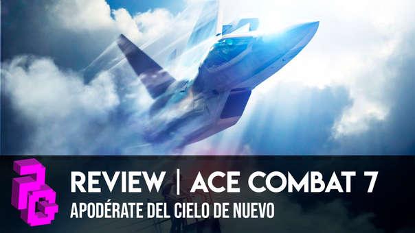Ace Combat regresa de una manera impresionante e inmersiva.