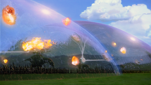 Aún la tecnología está lejos de la batalla de Naboo.