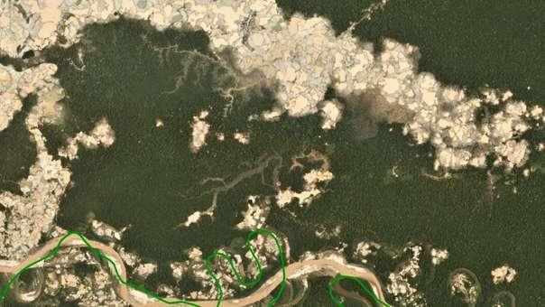 Deforestación en La Pampa (Madre de Dios)