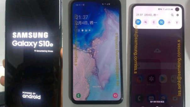 El teléfono cuenta con la nueva interface One UI.