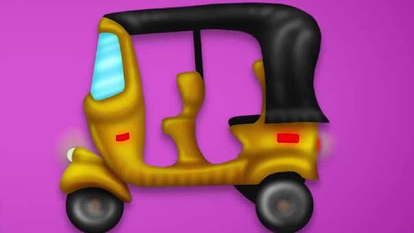 El mototaxi se une a los emojis.