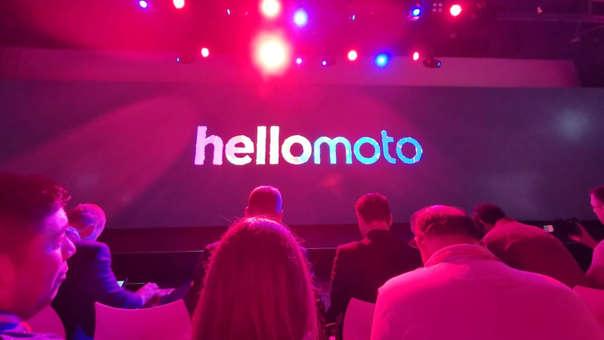 Mira la presentación con lo nuevo de Motorola.