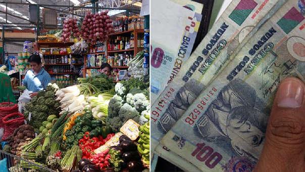 En enero del 2019, la inflación en Lima Metropolitana subió en 0.07%, y en los últimos doce meses esta tasa se colocó en 2.13%, cifra menor a la reportada en todo el 2018 ascendente a 2.19%.
