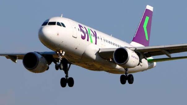La aerolínea chilena Sky Airline ha señalado que ofrecerá un pasaje 40% más barato que la competencia.
