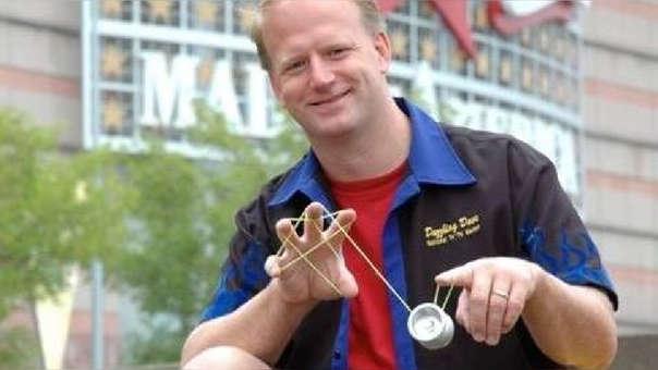 Schulte tiene 26 años de experiencia con los Yo-yo's.