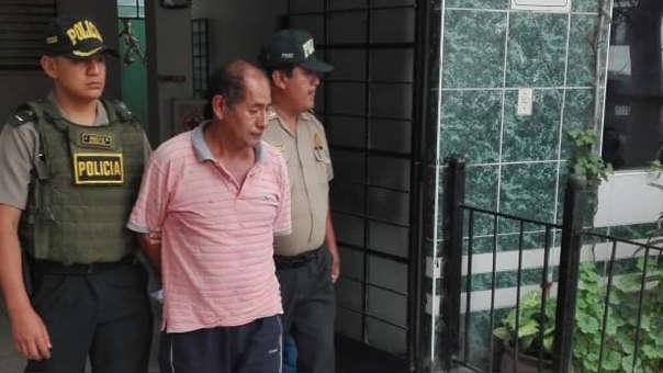 El sujeto fue detenido tras la brutal agresión.