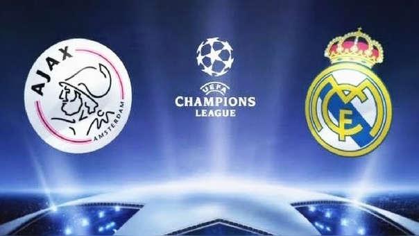 Real Madrid vs. Ajax EN VIVO por Champions League 2018-2019