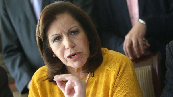 La excandidata a la presidencia del Perú y a la alcaldía de Lima, Lourdes Flores Nano, rechazó haber recibido aportes de Odebrecht.