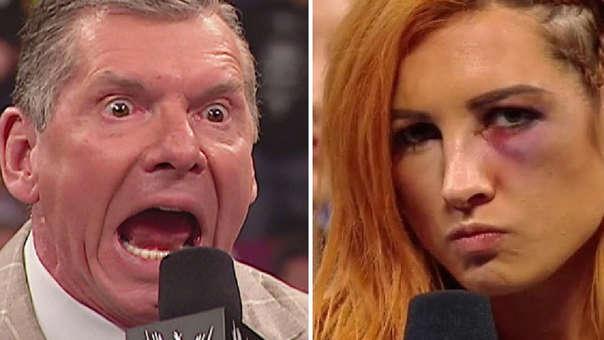 Vince está verdaderamente enojado.